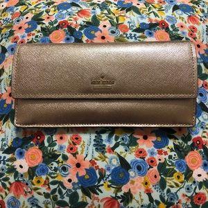 Kate Spade Cameron Street Alli Rose Gold Wallet